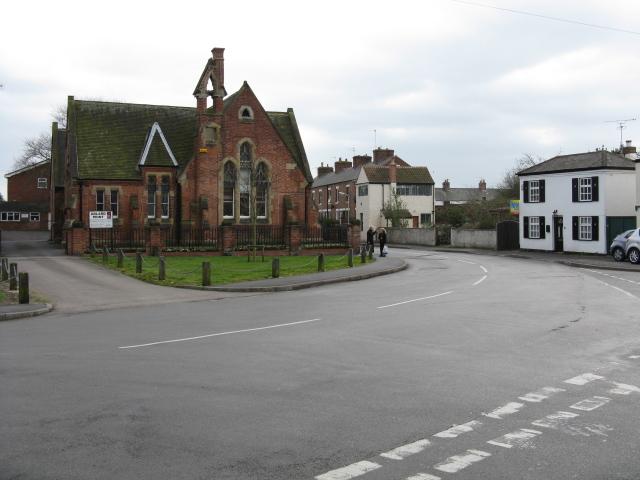 Ruddington - Asher Lane corner