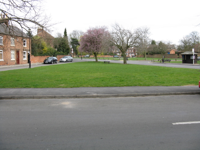 Ruddington - the village green