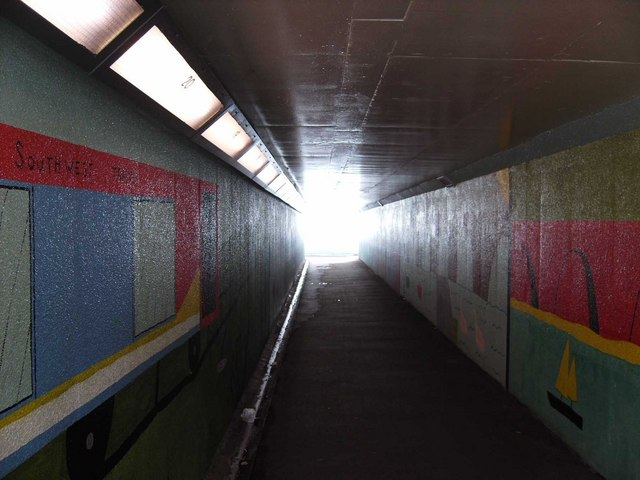 Colourful subway in Bath Lane (2)