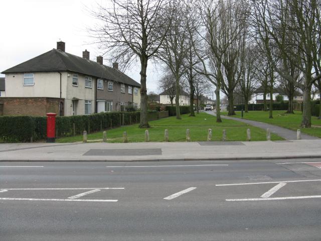 Clifton - blocked access to Farnborough Road