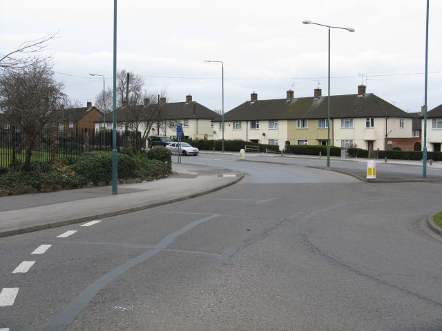 Clifton - Farnborough Road From Southchurch Drive Roundabout