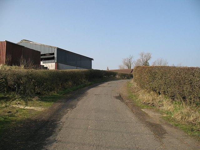 Blocked road, Lanridge