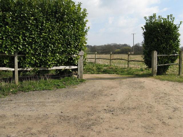 Entrance to Little Betley