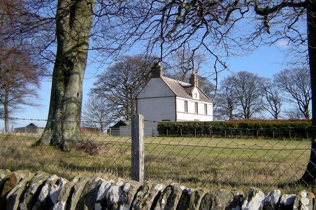 View of Balmashanner Farmhouse
