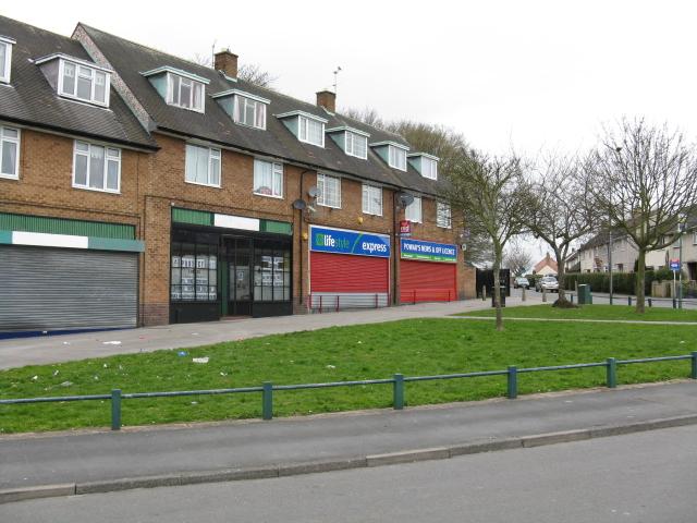 Clifton - Whitegate Vale local shops