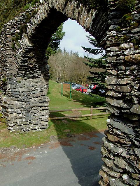 The Arch, near Cwmystwyth, Ceredigion