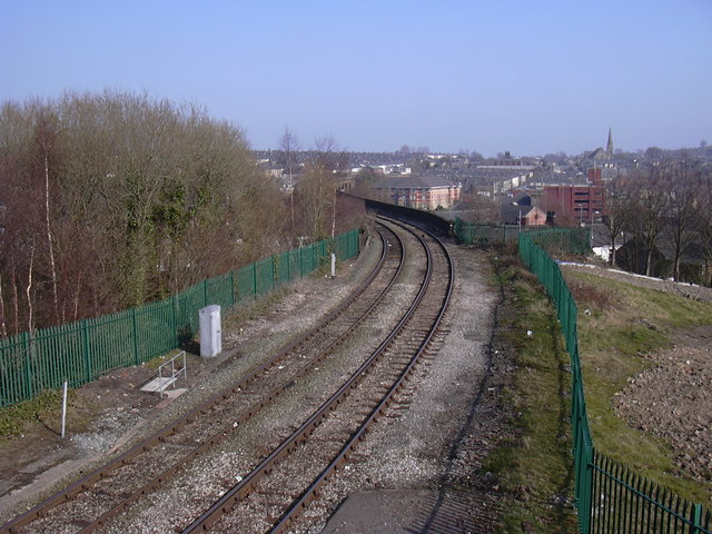 Rail Line to Colne