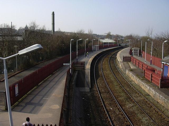 Rail Line to Blackburn