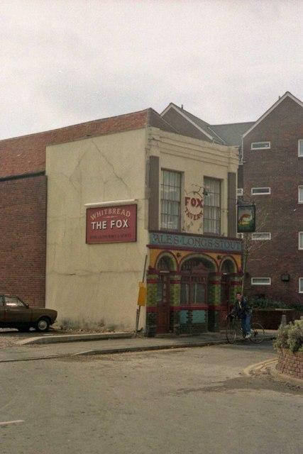 Pubs of Gosport - The Fox (1987)