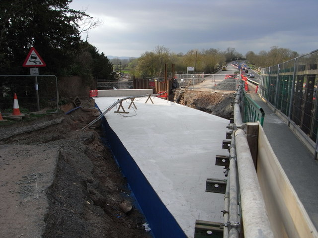 New tunnel under the A449