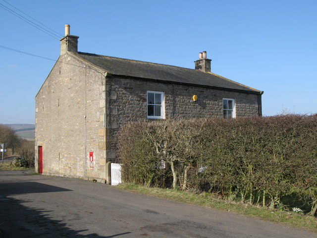 The former Post Office at Sinderhope