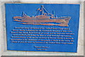 Photo of United States Coast Guard Rescue Flotilla I  blue plaque