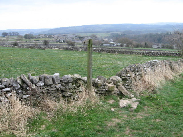 Footpath towards Over Haddon