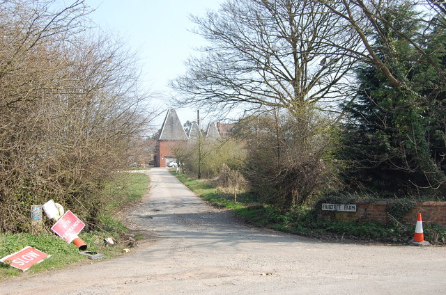 Entrance to Fairtree Farm, 2009