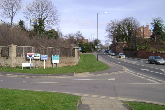 Corner of Rock Mill Lane and Rugby Road, Leamington Spa
