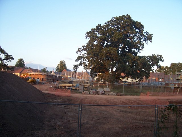 Tiverton : Moorhayes Construction Site