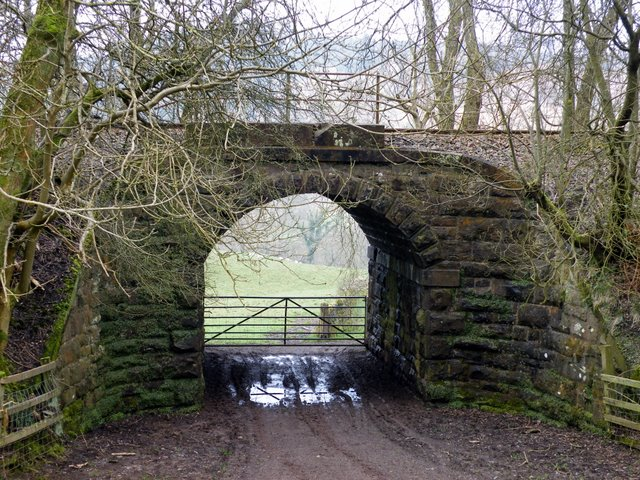 Railway arch at Dunrod