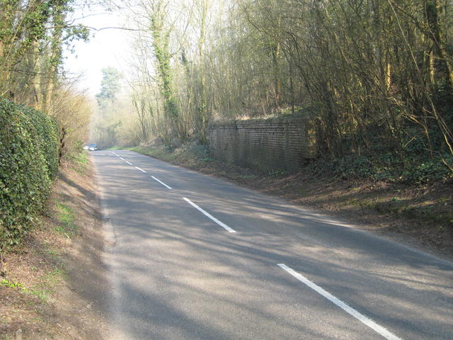 Abutments of former Leamington - Rugby Line
