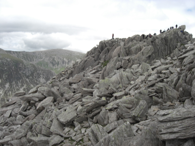 Approach to Tryfan summit
