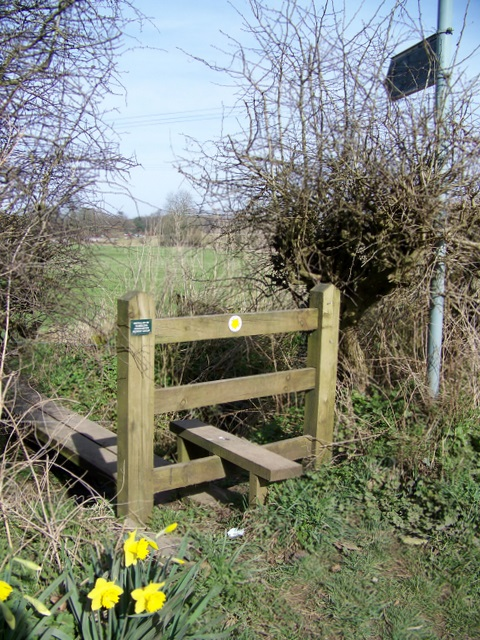 Stile, Charity Lane