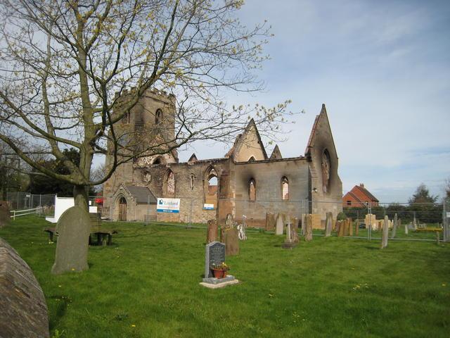 Ruins of St Nicholas' , Radford Semele