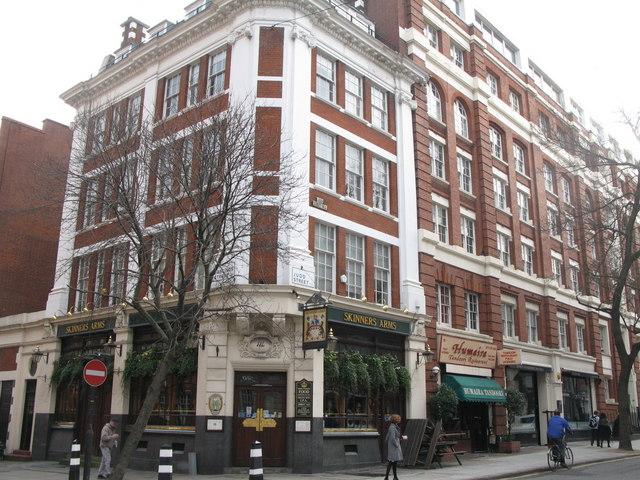 The Skinners Arms, Judd Street / Hastings Street, WC1