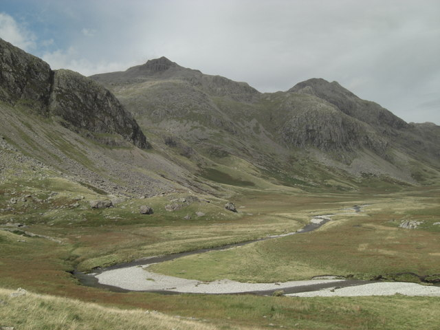 The Scafells across Great Moss