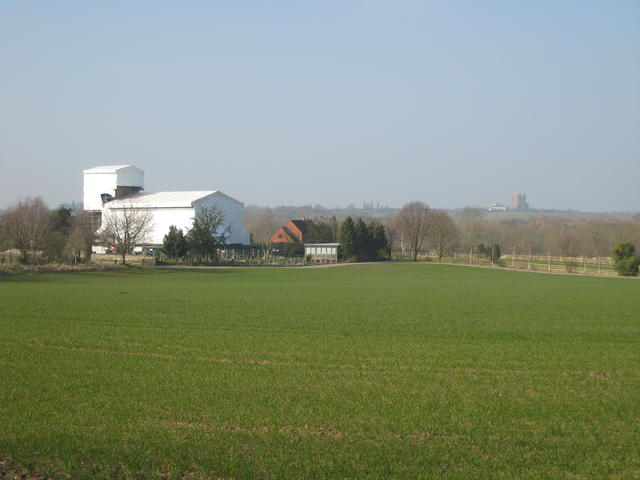 St Nicholas's church from Radford Semele village