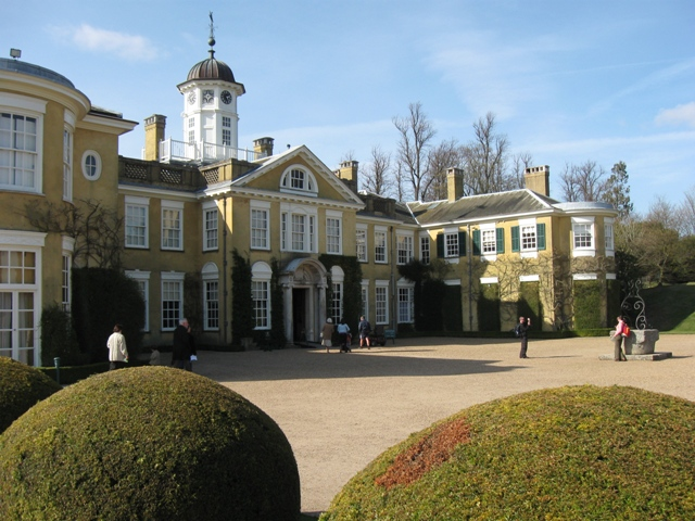 The East Front, Polesden Lacey