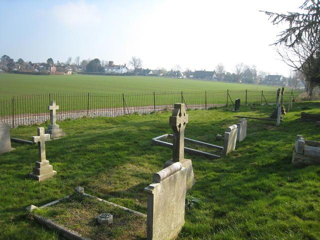 Radford Semele from St Nicholas' churchyard