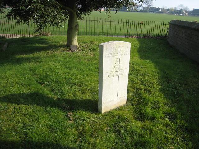 WWI war grave