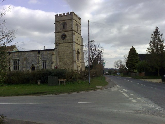 Church tower, St. John the Baptist, Granborough