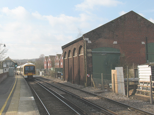 Wateringbury station: old goods shed