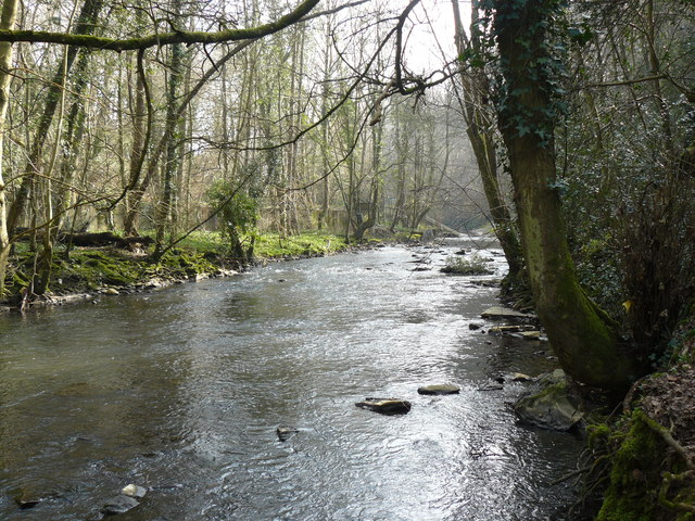 River Frome below Frenchay