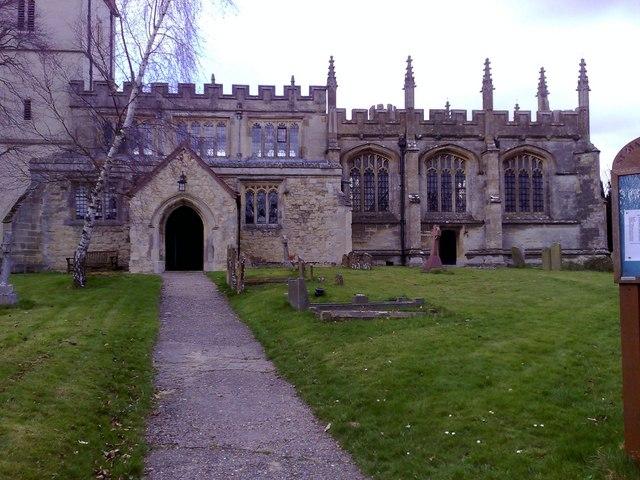 South entrance, North Marston parish church