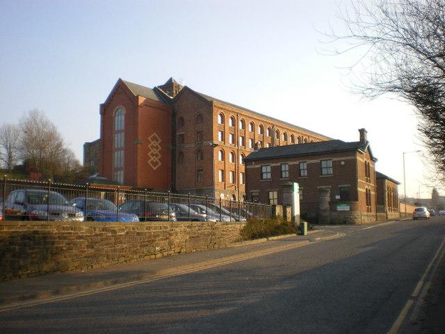 Daisyfield Cornmill from Appleby Street