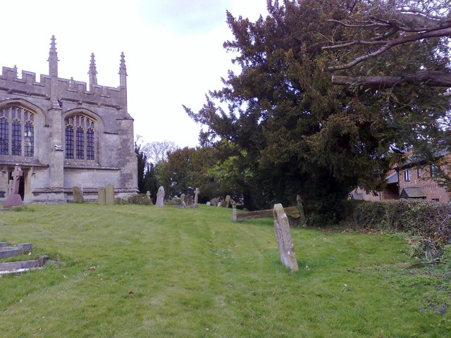 Churchyard at North Marston, Bucks