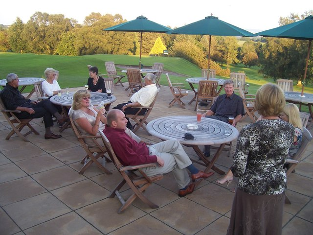 Tiverton Golf Club : Patio