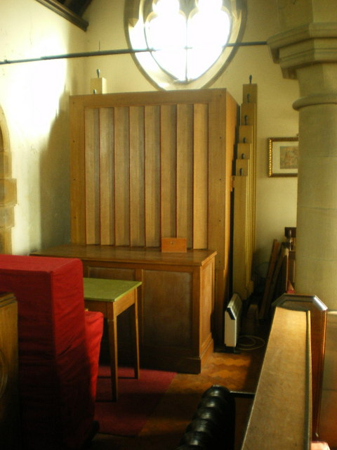 The Parish Church of All Saints, Pendleton, Organ