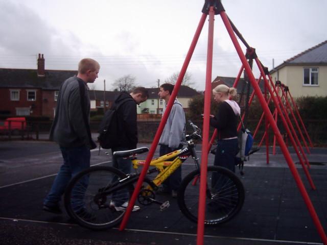 Tiverton : Amory Park Swings
