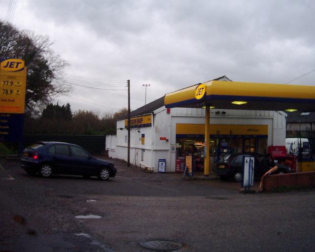 Tiverton : Jet Petrol Station / Horsdon Garage