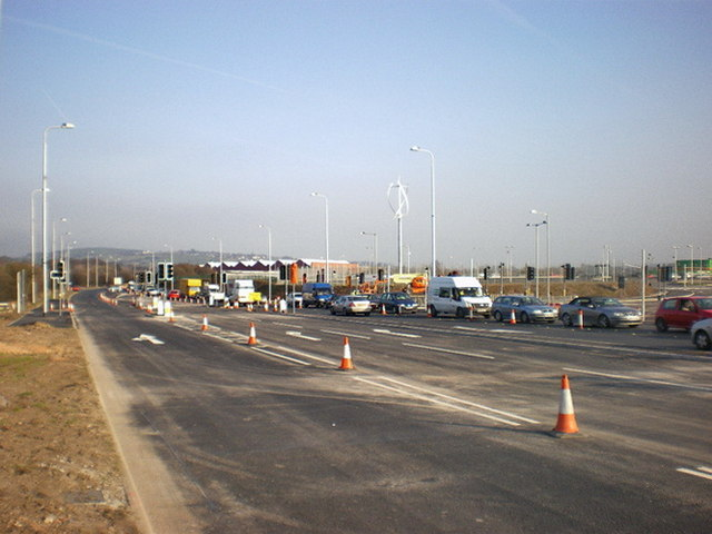 Road improvements at the junction of the A59 and Bowfields Lane