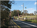 TQ7053 : Teston Lane level crossing by Stephen Craven