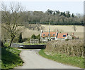 ST6762 : 2009 : Lane in Stanton Prior by Maurice Pullin