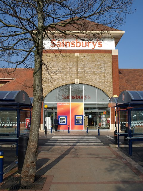 Cars That Start With B >> Sainsbury's, Hankridge Farm, Taunton © Derek Harper ...