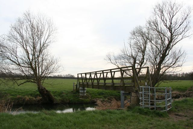 Bridge over a tributary of the river Ouse