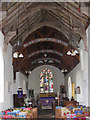 TM3556 : The  interior of St.Peter's Church, Blaxhall by Adrian Cable