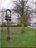 TQ8344 : Headcorn Village Sign by David Anstiss