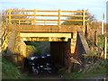 TL0140 : Railway Bridge near Ampthill by Dennis simpson