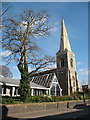 TQ2864 : Holy Trinity church, Wallington by Stephen Craven